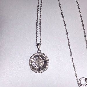Nwot stunning .52ctw genuine diamond necklace